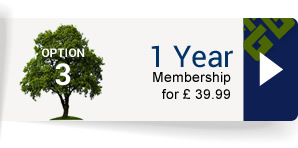 Option 3 – 1 Year Membership for £39.99