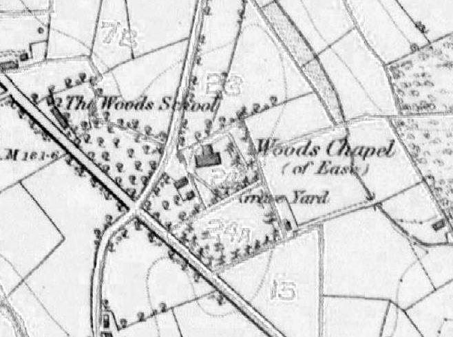 Church Census, 1829: Woods Chapel, Artrea, County Londonderry.